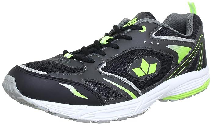 Lico Marvin 110079 - Zapatos para correr para hombre, Gris (ANTHRAZIT/Negro/LEMON), 50 EU