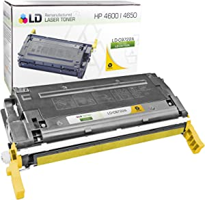 LD Remanufactured Toner Cartridge Replacement for HP 641A C9722A (Yellow)