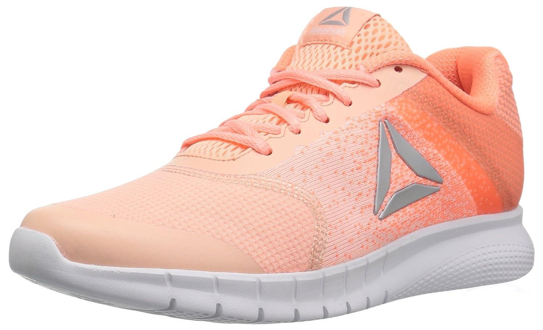Reebok Women's Instalite Run Track Shoe B071GNH2KM 11 B(M) US|Peach Twist/Sour Melon/White/Silver