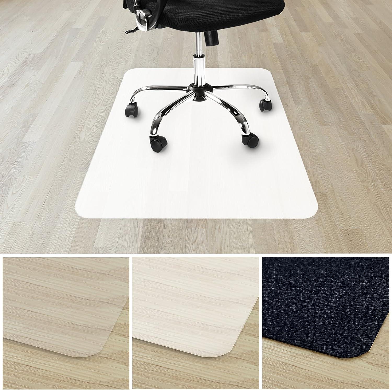 tappetini per sedie 90 x 120 cm protezione pavimenti rigidi adatto per tutte le sedie da ufficio Casa Pura/® Polipropilene Opaque protezione pavimenti rigidi