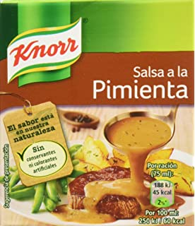 Knorr - Salsa Brick A La Pimienta, 300 ml - [Pack de 2]