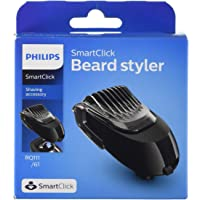 Philips SmartClick Beard Styling Accessory with 5 Length Settings, Comb & Precision Trimmer for Philips Men's Electric…