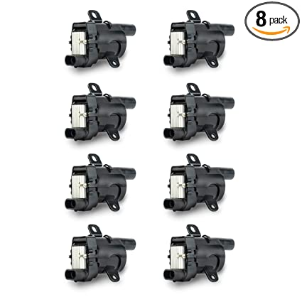 ignition coil pack set of 8 - fits v8 chevy silverado 1500, 2500, tahoe