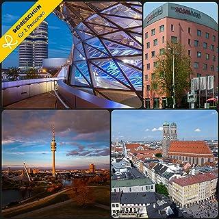 Viaggiare – 3 Giorni in 3 * acomhotel Capelli Monete & 2 Cartoline giornaliere per la Terme Erding – Hotelgutschein Buono Viaggio Breve Vacanza Regalo da Viaggio