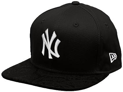 A NEW ERA Era MLB Poly Core Neyyan Blk - Gorra Línea York Yankees para Hombre, Color Negro, Talla S-M