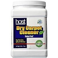HOST Dry Carpet Cleaner Shaker Pack