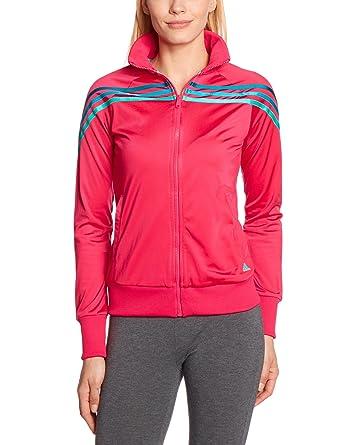 adidas Chaqueta para Mujer, tamaño XS, Color Bright Rosa