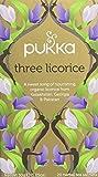 Pukka Three Licorice, Organic Herbal Tea (4 Pack, 80 Tea bags)