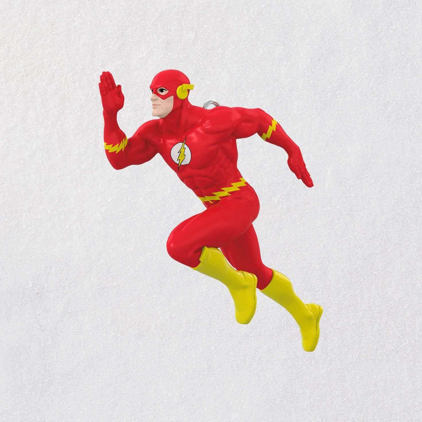 Hallmark Keepsake Mini Christmas Ornament 2018 Year Dated, DC Comics Justice League The Flash Miniature, 1.3'' by Hallmark