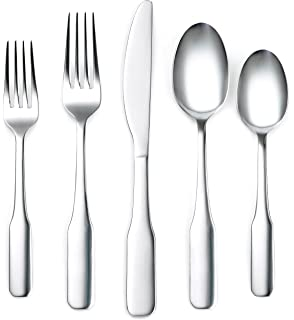 Corelle Coordinates Noah Mirror 20-Piece Flatware Set, Service for 4