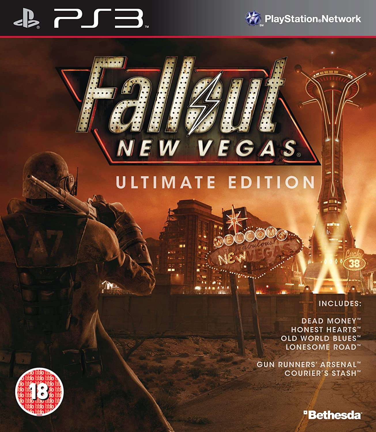 Fallout: New Vegas - Ultimate Edition (PS3): Amazon co uk