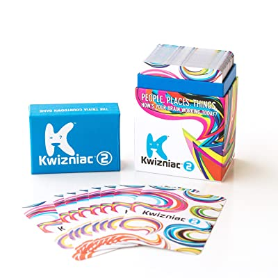 Kwizniac 2 Card Game: Toys & Games