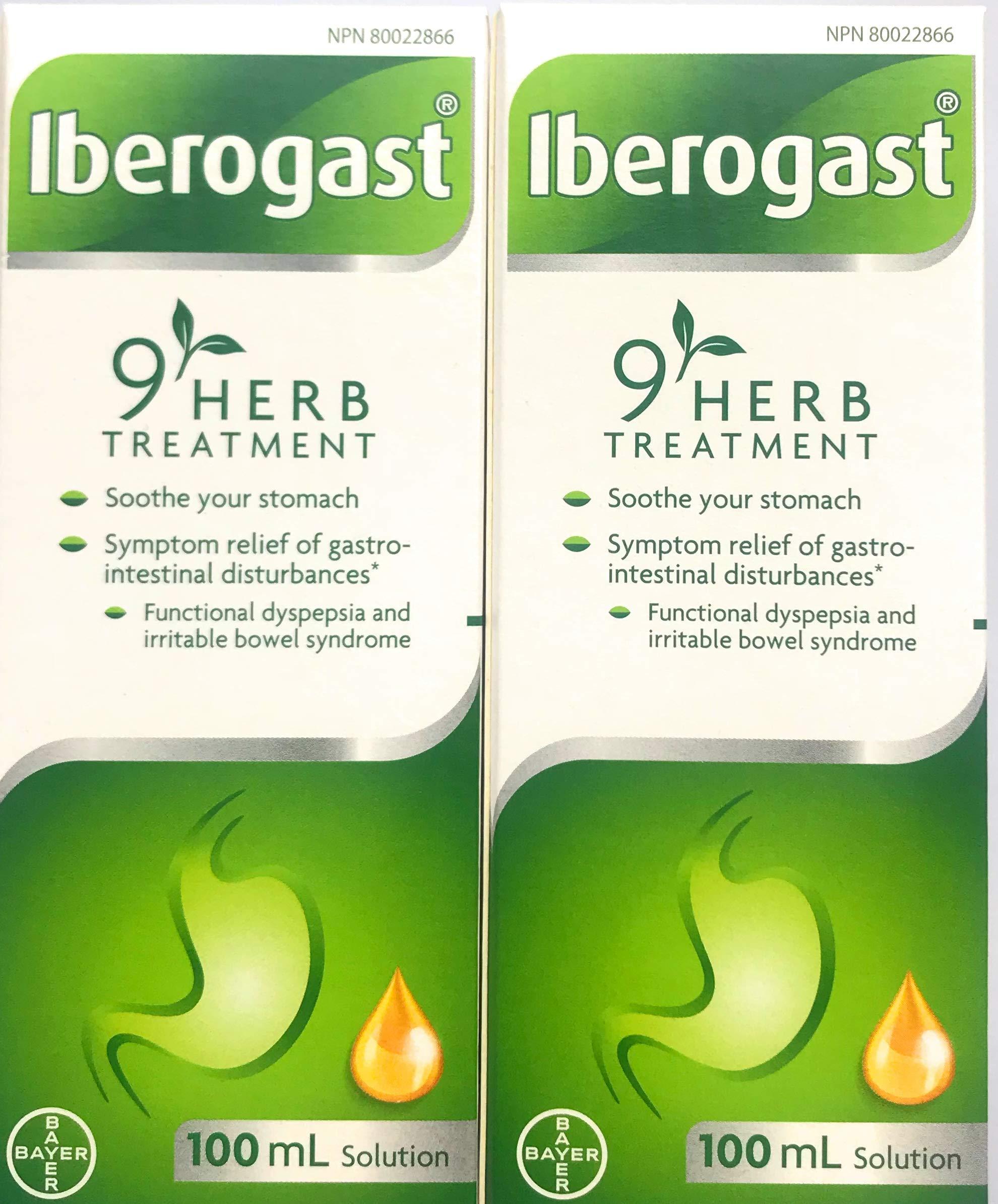 Iberogast LARGE SIZE -TWO BOTTLES 2x100ml