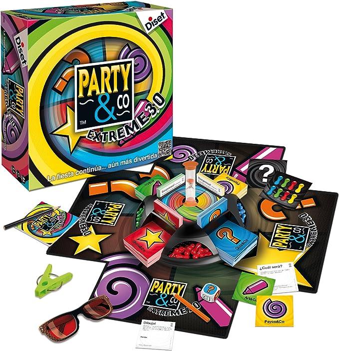 Diset , Party and co Extreme 3.0 (Diset 10089): Amazon.es ...