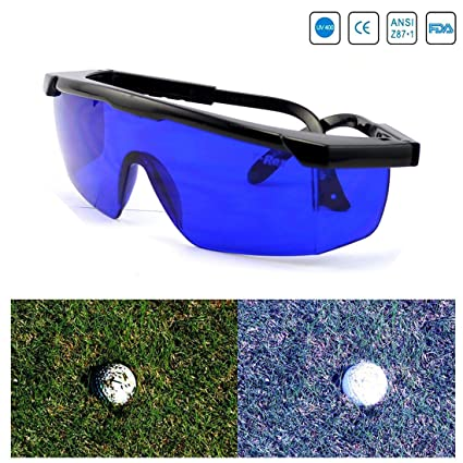 946e98badab7 Amazon.com   Feisuo Feisou Golf Ball Finder Professional Lenses Glasses  with Mould Case Eyeglass Cords Lens Less Straining Sunglasses Goggles    Sports   ...