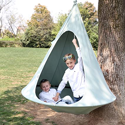 Panda Pod Hanging Hammock Chair Tent Pod for Indoor and Outdoor Use Single  sc 1 st  Amazon.com & Amazon.com: Panda Pod Hanging Hammock Chair Tent Pod for Indoor ...