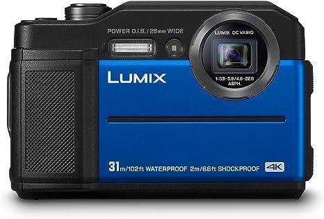 Panasonic Lumix DC-FT7EG-A - Cámara 4K acuática sumergible 20.4 MP ...