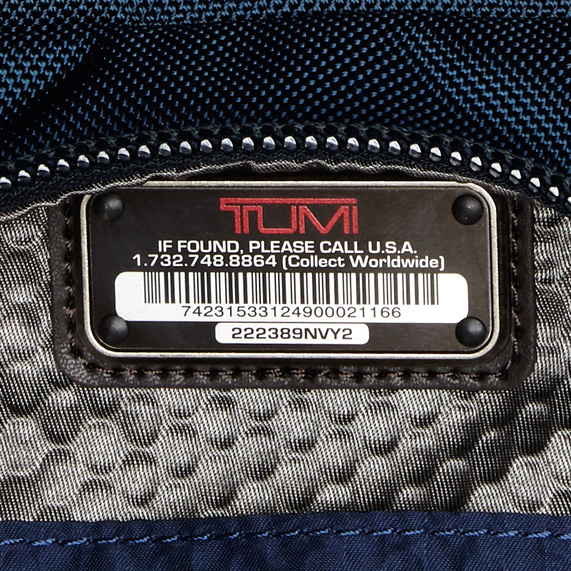 Tumi Alpha Bravo Shaw Deluxe Brief Pack, Navy by Tumi (Image #6)