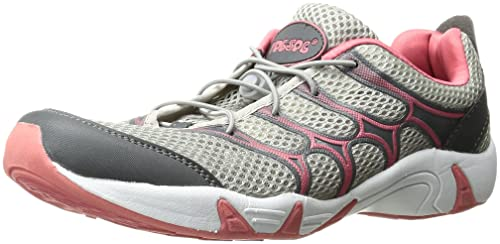 RocSoc Women's Rocsoc Water Shoe, Coral/Grey, ...