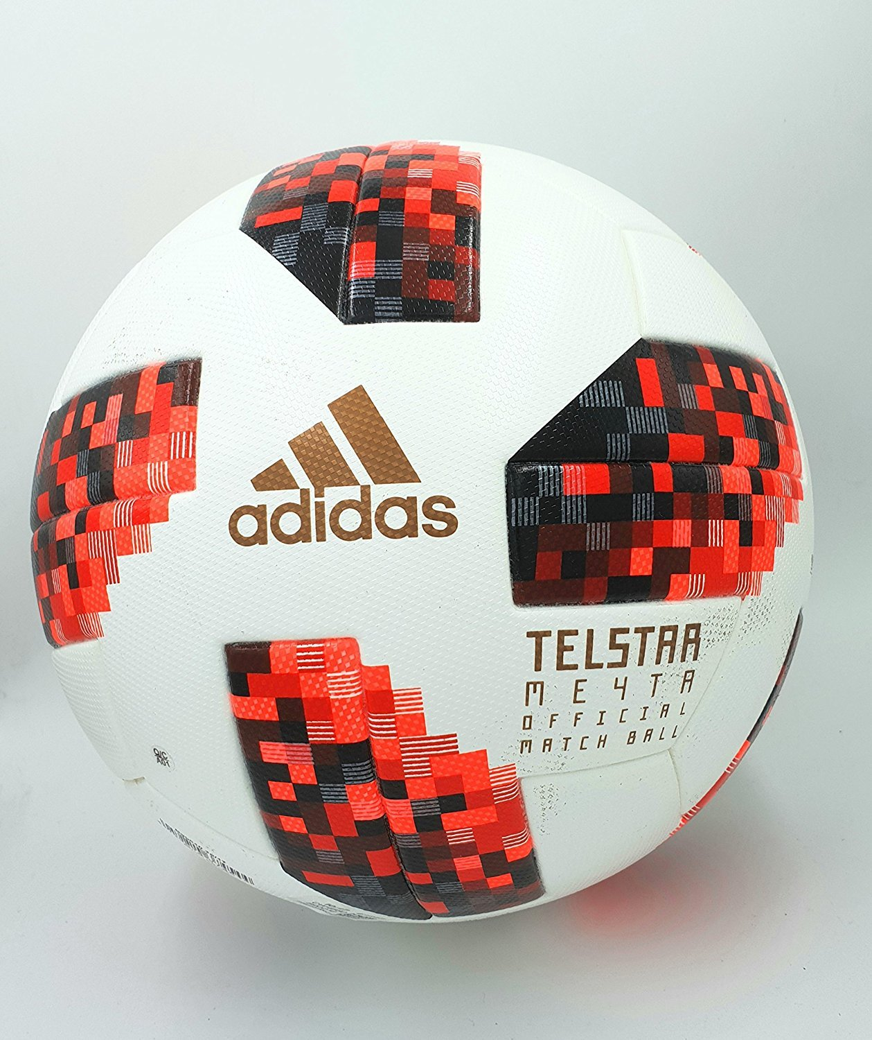 telstar W Cup KO Omb, Fútbol, 5, White-Solar Red-Black: Amazon.es ...