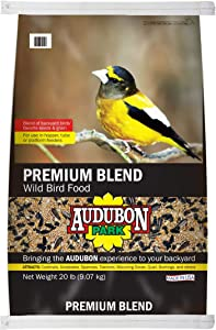 Audubon Park 13245 Premium Blend Wild Bird Food, 20-Pound