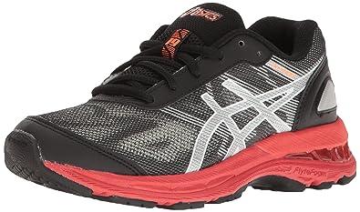 ASICS - Chaussure de ASICS course à pied 3868 pour Gel Nimbus 19 GS pour garçons - Noir/ Argent/ Vermillon 07eac36 - madridturismobitcoin.website
