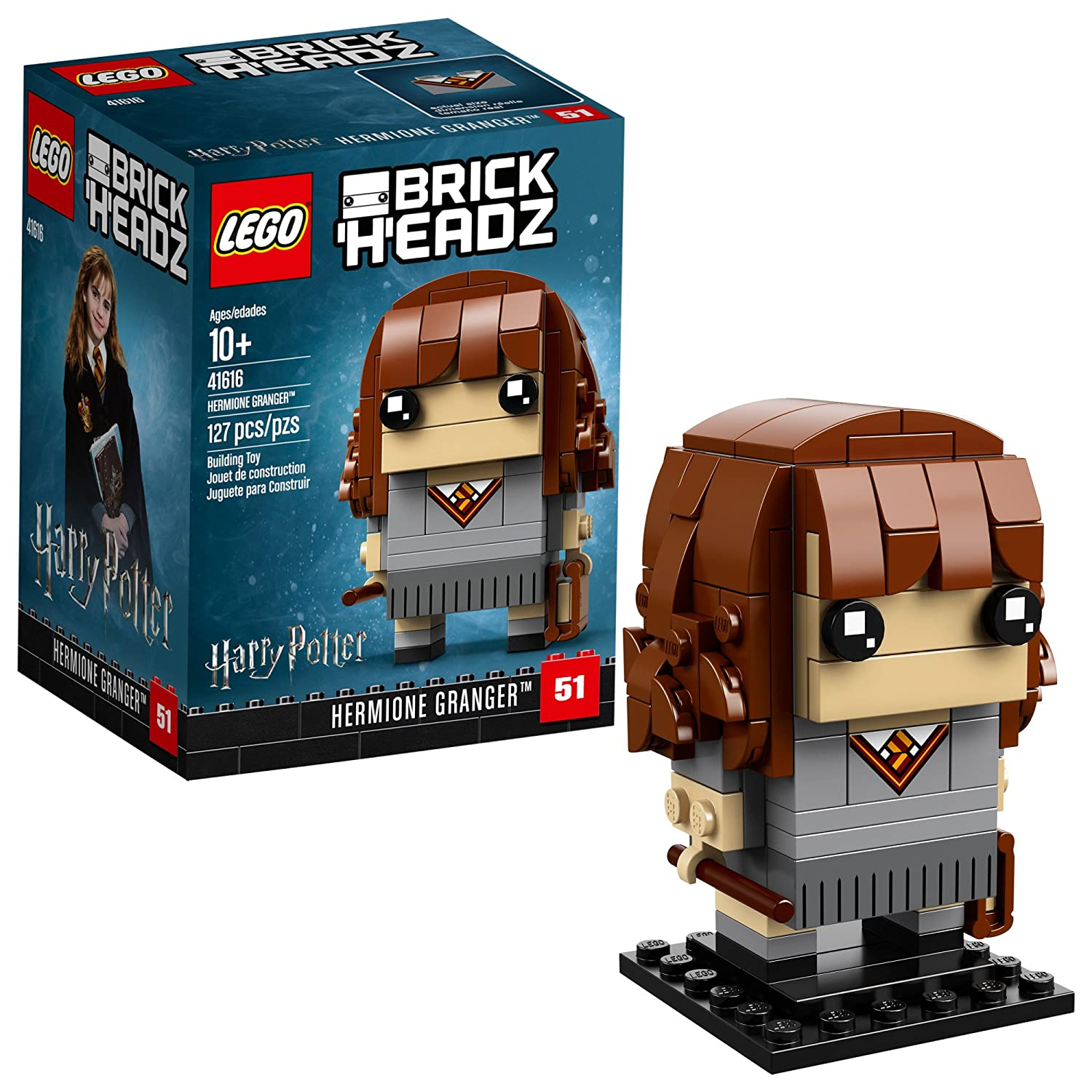 LEGO BrickHeadz Hermione Granger™ 41616 Building Kit (127 Piece), Multicolor CONF Good guy 1 41616