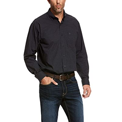 ARIAT Men's Pro Series Ulrich Stretch Classic Fit Shirt at Men's Clothing store