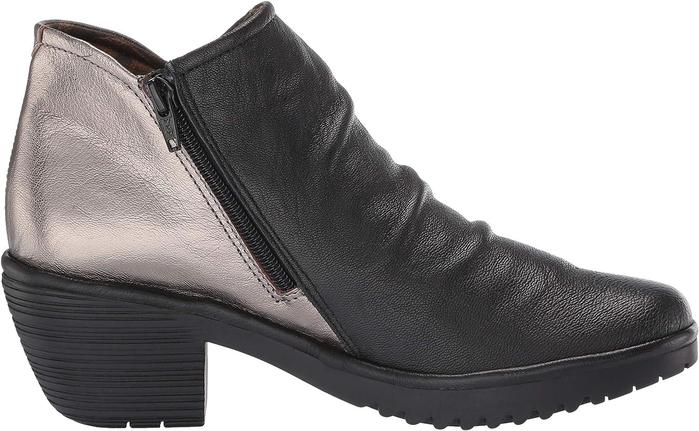 Fly London Women's Wezo890fly Ankle Boots Black Black Bronze 016