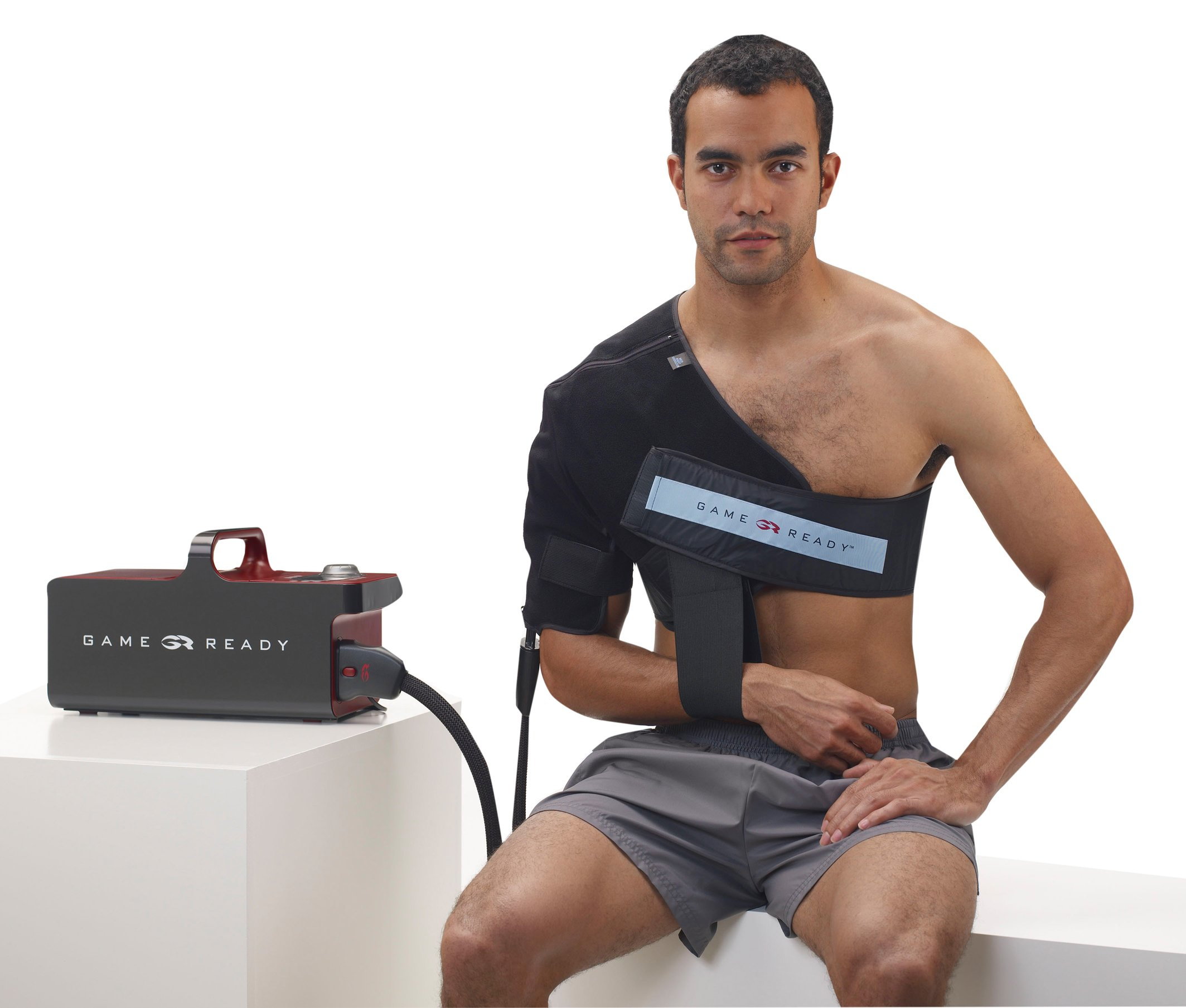 Shoulder Wrap with ATX, Large, Left (fits chest sizes 40''-55'')