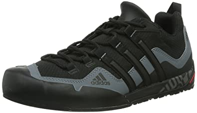 Adidas Terrex Swift Solo, Unisex Adults Low Rise Hiking Shoes, Black (Black