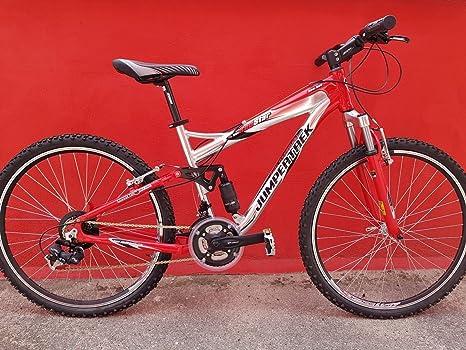 Bicicleta Bicicleta 26 Cinzia Redstar jumpertrek Full Suspension ...