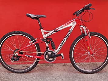 Bike Cycling 26 Cinzia Redstar Jumpertrek Full Suspension Aluminium