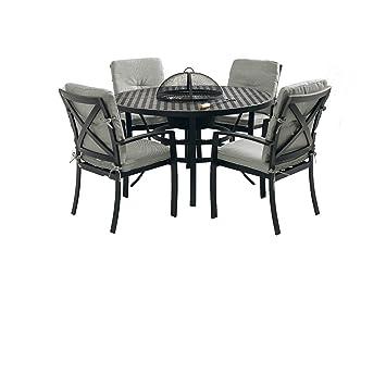 Hartman Set 5tlg 1 mesa 130 cm 4 sillas Jamie Oliver aluminio ...
