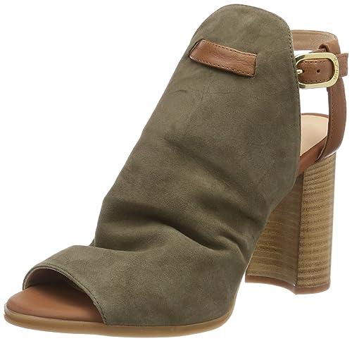 Zapatos multicolor de punta abierta Unisa para mujer MgyzCftET4