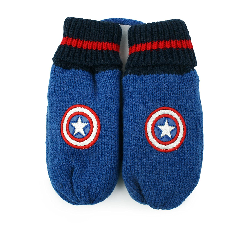 MARVEL Captain America Super Heroes Shield Gloves for Toddler Boys
