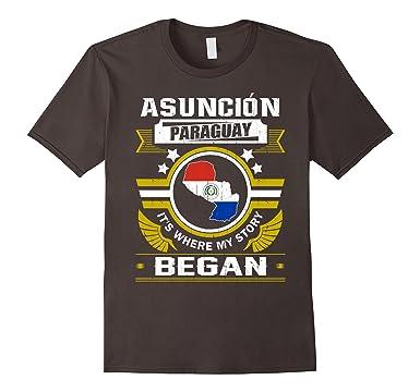 Amazon.com: Asuncion, Paraguay camisa: Clothing