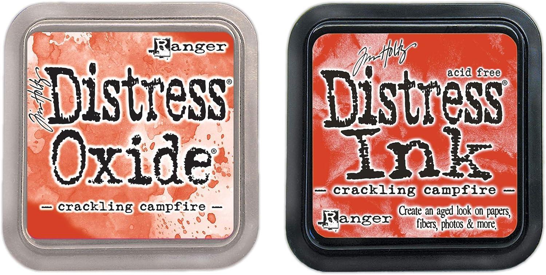 Distress Distress Oxide Tim Holtz Crackling Campfire Basics Two Ink Pads