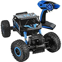 Click N' Play Rock Crawler Vehicle, 4WD, Off Road All-Weather, RC Remote Control, 2.4 GHz