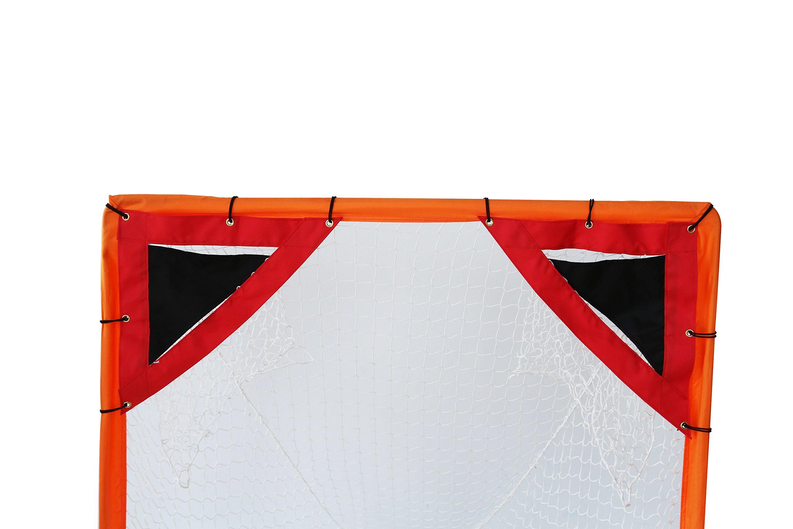 18'' Lacrosse Net Goal Shooting Corner Targets - Set of 2 by Trademark Innovations