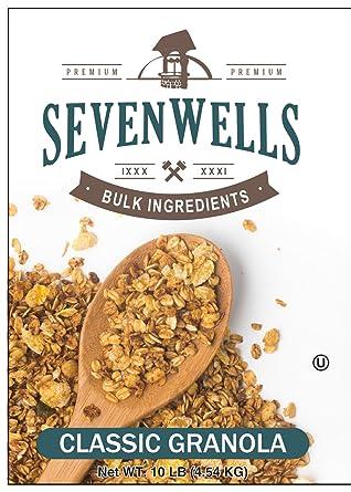 Sevenwells Granola Clásico Envase a Granel - Avena-N-Miel ...