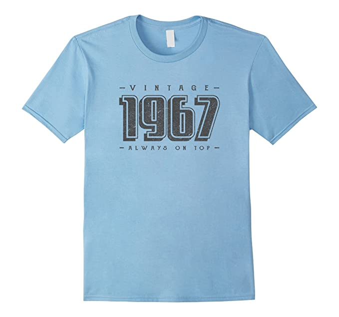 Mens 50th Birthday Gifts For Women Men 50 Years Old 1967 T Shirt 2XL Baby