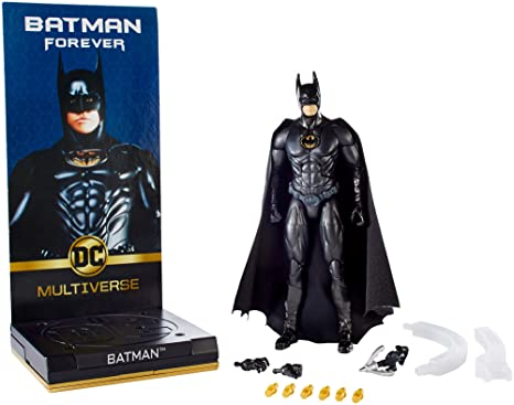 eca86694b31f Image Unavailable. Image not available for. Color  DC Comics Multiverse  Signature Collection Batman Forever Batman Figure