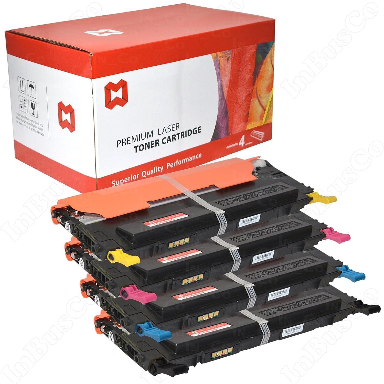 4 Tóners Samsung vikdo COMPATIBLES para Samsung Tóners CLX-3185FN CLP-320 CLP-320 N CLP-325 8b99f7