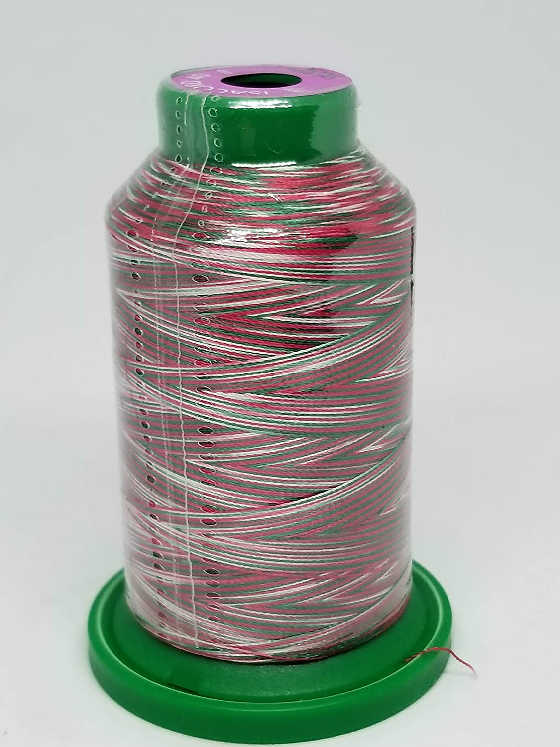 9923 Rasberries /& Cream Isacord Embroidery Thread Variegated