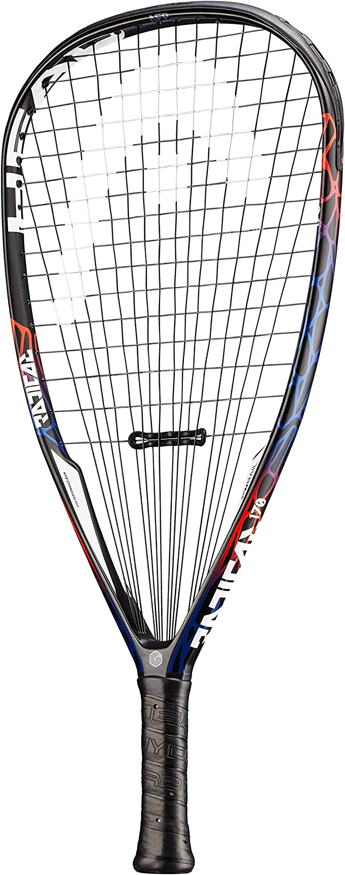 3 5//8 and 3 7//8 Grip Available 3 5//8 and 3 7//8 Grip Available HEAD Graphene Radical 160//170//180 Racquetball Racquet Series,