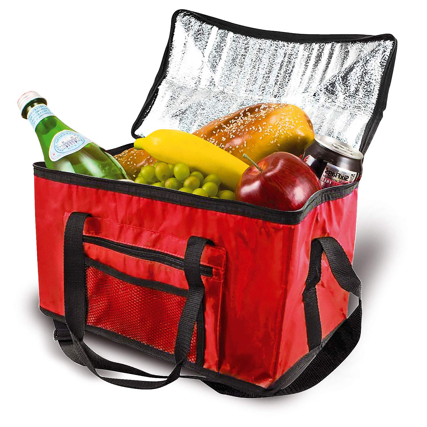 4 Ltr Insulated Compact Handy Cool Bag Camping Picnic Cooler Box Lunch Ice Food
