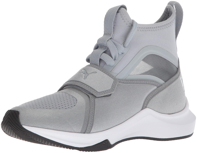 PUMA Women's Phenom Wn Sneaker B072N8F1WK 11 B(M) US|Quarry-puma White