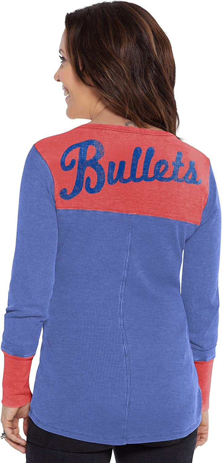 X-Large Royal Touch by Alyssa Milano NBA Washington Bullets Blindside Thermal