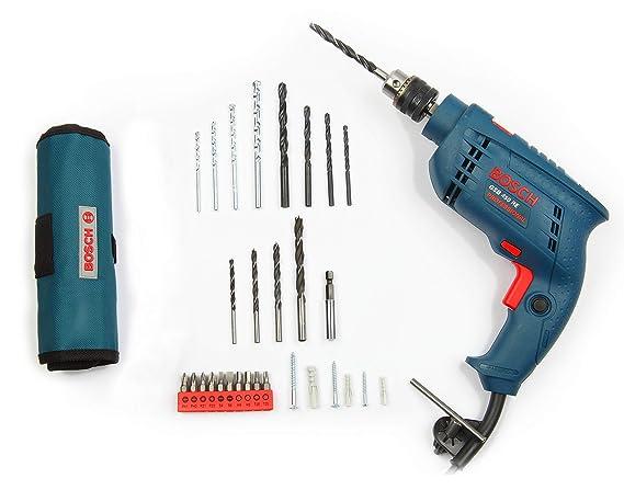 Bosch GSB RE 450 Watt Kit  Blue  Drill Tool Kits